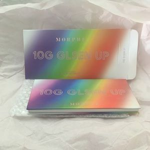 BNIB Glsen Up Palette with the Pride Brush Set